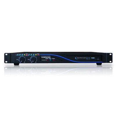 Technical Pro 1U Professional Power Amplifier