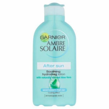 Ambre Solaire Garnier After Sun Soothing and Hydrating Lotion with Natural Derived Aloe Vera 200ml