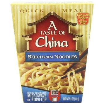 A Taste of China Szechuan Noodles, 5-Ounces (Pack of 6)