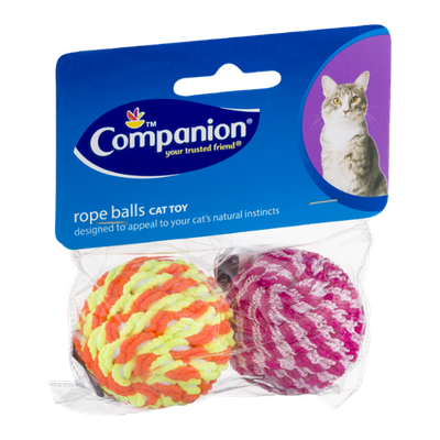 Companion Rope Balls Cat Toy