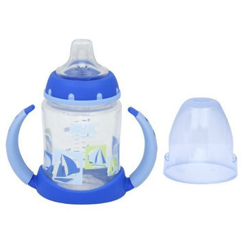NUK Silicone Learner Cup, Blue Spout, 5-Ounce