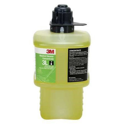 3M 3L Neutral Cleaner Concentrate, Black Cap, 2 Liter