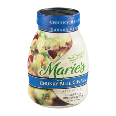 Marie's Dressing & Dip with Real Premium Ingredients Chunky Blue Cheese