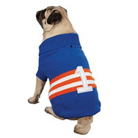 Zack & Zoey Collegiate Pet Sweater - Blue