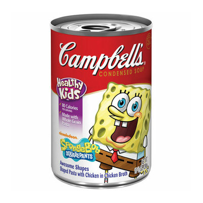 Campbell's® Nickelodeon SpongeBob Square Pants Pasta Chicken In Chicken Broth Condensed Soup