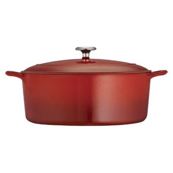 Tramontina 7 Quart Cast Iron Dutch Oven - Red