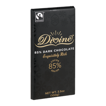 Divine Chocolate 85% Dark Chocolate