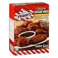 T.G.I. Friday's Crispy Chicken Wings Value Size Honey BBQ Style Sauce