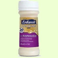 Enfamil Gentlease Ready to Feed, 2fl Oz (48 Bottles)