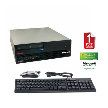 Joy Systems, Inc Lenovo refurbished small form factor 6072 DC 1.6/2048/160/DVD/W7HP