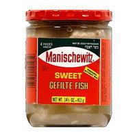 Manischewitz Gefilte Fish Sweet, 14.50-Ounce (Pack of 3)