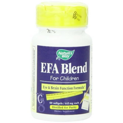 Nature's Way EFA Blend for Children , 445 mg, 60 Softgels