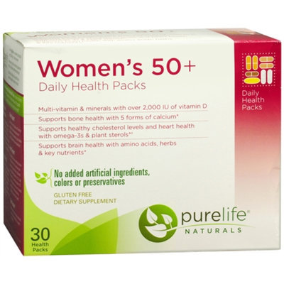 PureLife Naturals Women's 50+ Daily Health Pack, 30 ea