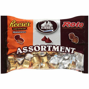 Hershey's Reese's Miniatures/ Kisses/Rolo Caramels Assortment