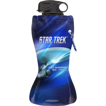 Vandor Star Trek 24 oz. Collapsible Water Bottle