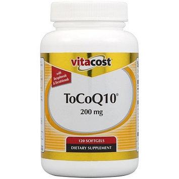 Vitacost Brand Vitacost ToCoQ10 -- 200 mg - 120 Softgels