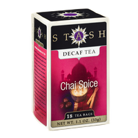 Stash Decaf Tea Chai Spice - 18 CT