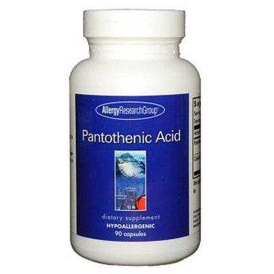 Allergy Research Group, Pantothenic Acid 90 vegetarian capsules