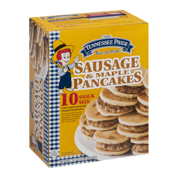 Odom's Tennessee Pride Sausage & Maple Pancakes Snack Size - 10 CT
