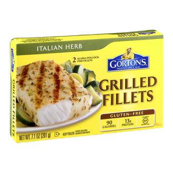 Gorton's Grilled Fillets Italian Herb - 2 CT