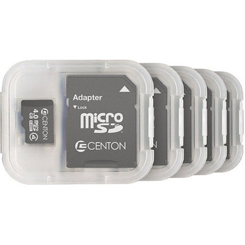 CENTON Centon MP Essential 4GB Class 4 microSDHC Card, 5pk