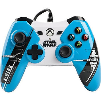 Bd & A Inc Power A - Star Wars: The Force Awakens X-wing Wired Controller For Xbox One - Blue/gray/black/white