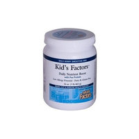 Natural Factors Kid's Factors Daily Nutrient Boost with Pea Protein Wild Berry Smoothie Mix, 16-Ounce