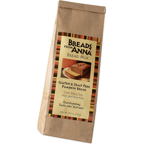 Breads from Anna for Full Circle Exchange Gluten- & Yeast-Free Pumpkin Bread Mix, 18 oz