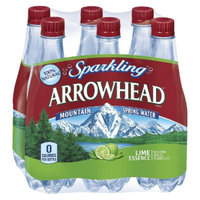 Arrowhead Sparkling Lime Water 16.9 oz, 6 pk