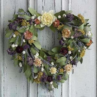Organic Bouquet Wreath, Everlasting Love, 1 ea