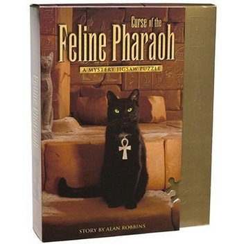 University Games Classic Mystery Jigsaw - Curse of the Feline Pharaoh