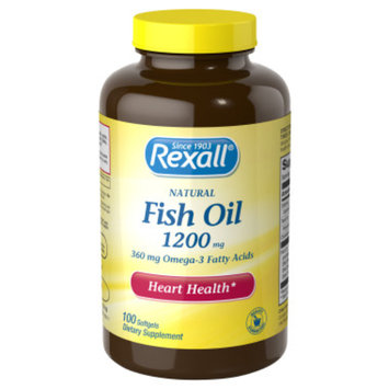 Rexall Fish Oil 1200 mg - Softgels,100 ct