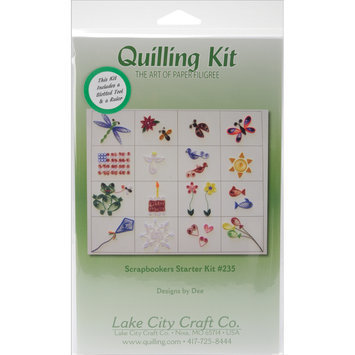 Lake City Craft Quilling Scrapbooker's Starter Kit