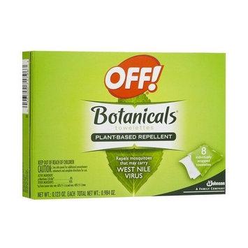 Off! Botanicals Towelettes