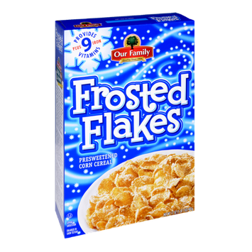 Our Family Frosted Flakes Corn Cereal