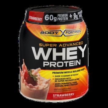 Body Fortress Super Advanced Whey Protein Strawberry