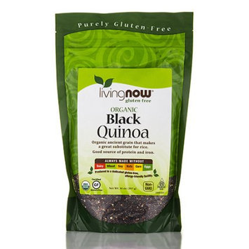 NOW Foods Livingnow Organi Black Quinoa 14 oz