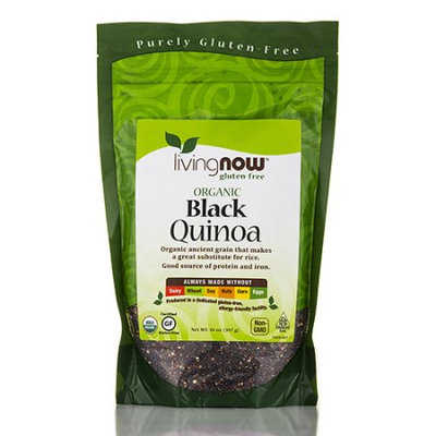 NOW Foods Livingnow Organi Black Quinoa 14 oz