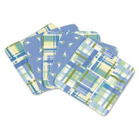 Trend Lab Set of 5 Wash Cloth, Baby Barnyard