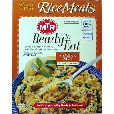 MTR Sambhar Rice 10.5 oz
