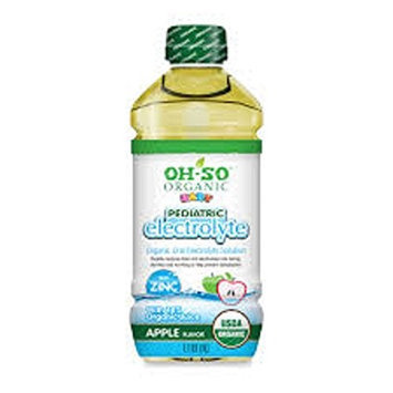 Oh-so Organic Baby PED ELECTROLYTE, OG2, APPLE, (Pack of 6)