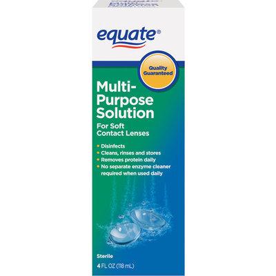 Equate Sterile Multipurpose Solution 4 Fl Oz