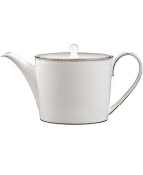 Monique Lhuillier Waterford Dinnerware, Dentelle Teapot
