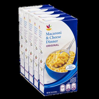 Ahold Macaroni & Cheese Dinner Original - 5 CT