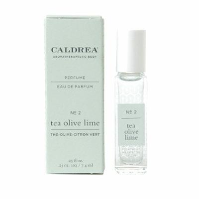 Caldrea Perfume Rollerball, Tea Olive lime, .25 fl oz