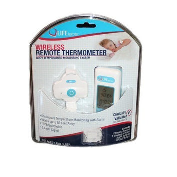 Life Labs Wireless Remote Thermometer And Body Temperature Monitoring System