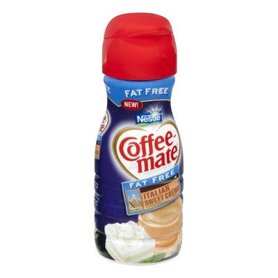 Nestlé Coffee-Mate Fat Free Italian Sweet Creme Flavor Coffee Creamer