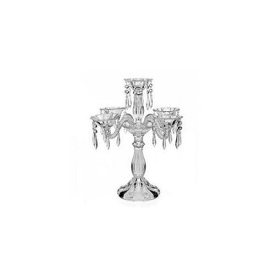 Godinger 25535 Wellington Crystal 5 Arm Candelabra