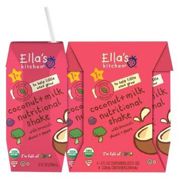Ella's Kitchen Coconut + Milk Nutritional Shake with Broccoli Plums &