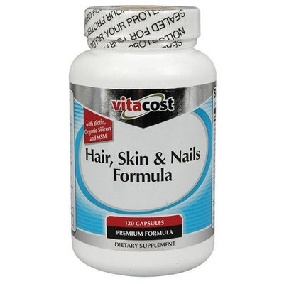 Vitacost Brand Vitacost Hair, Skin & Nails Formula -- 120 Capsules